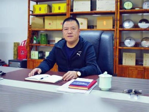 三孔桥国际家纺城总经理崔刚