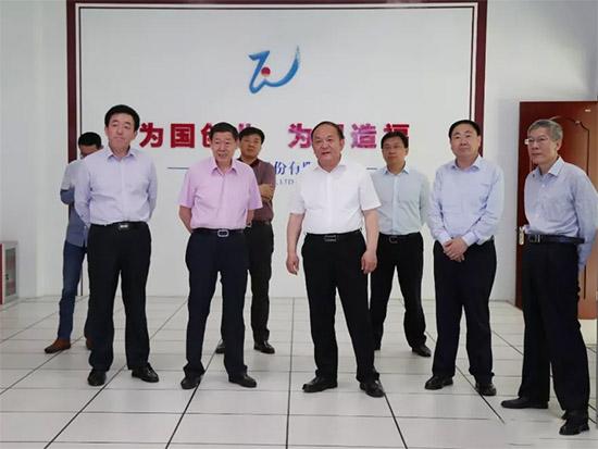 市委副书记、代理市长宇向东来魏桥创业集团调研