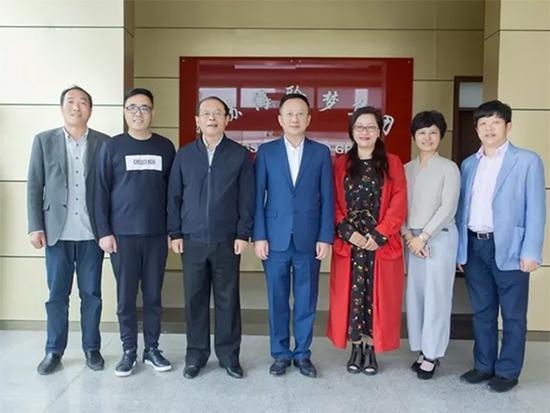 中国家纺协会调研江苏海聆梦纺织品集团公司