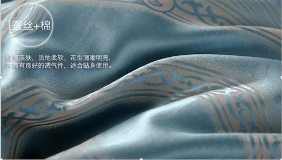 面料细节图蚕丝棉