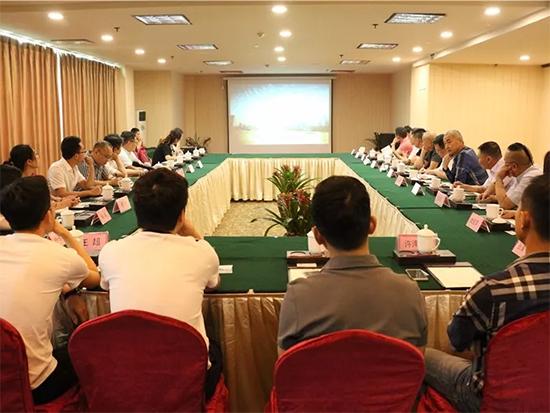 四川屏山县投资局与海宁家纺企业举办招商对接会