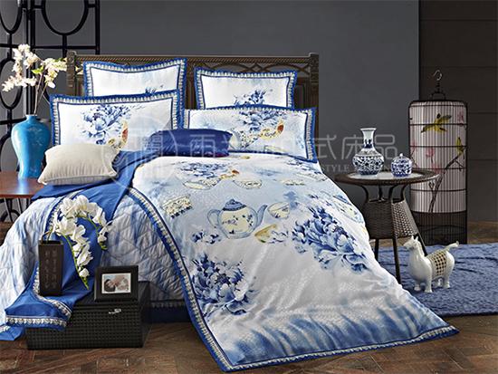 雨兰家纺新中式床品
