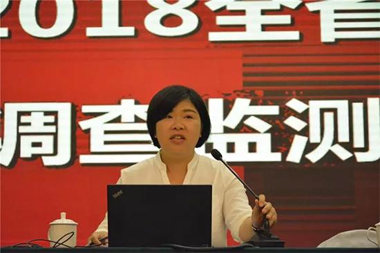 省商务厅综合处副处长 陈芳芳