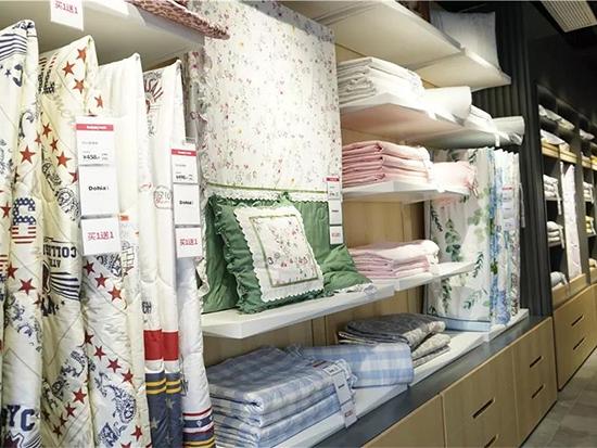 时尚炫彩的纯棉印花套件区