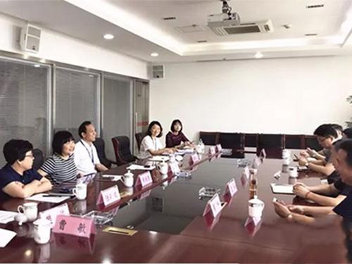 中安建联领导考察海门叠石桥家纺产业与市场