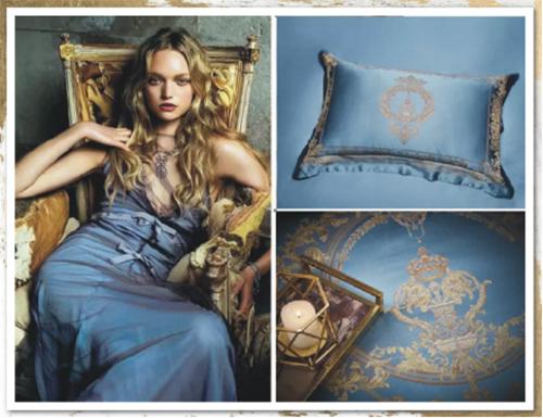 法国蓝作为主色调