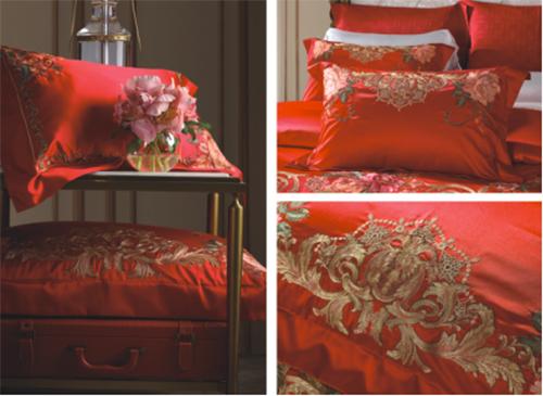 纯正巴洛克风的美泉宫浮雕花纹和一系列富有美好寓意的花卉图案结合