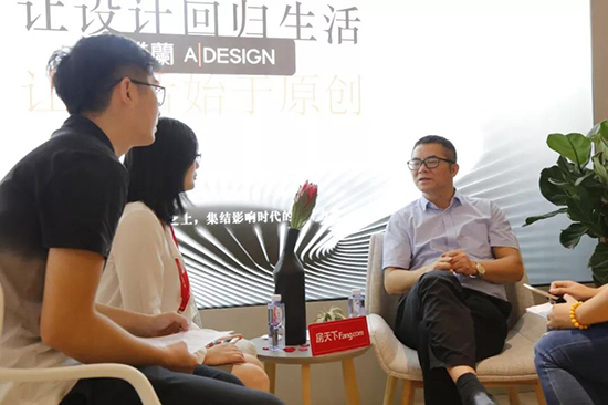 雅兰总经理李四清先生接受媒体采访
