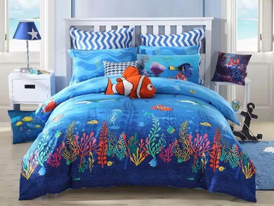 梦洁宝贝床上用品海底总动员