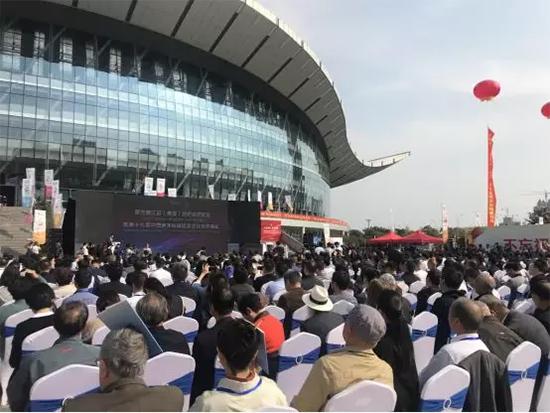 第五届江苏(盛泽)纺织品博览会暨第十九届中国盛泽丝绸旅游文化节开幕式仪式的隆重举行