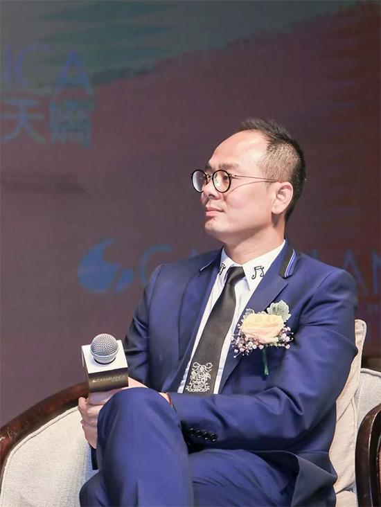 卡撒天娇集团总裁郑斯灿