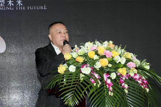 总经理谢安成对前来的加盟商们表示由衷的欢迎