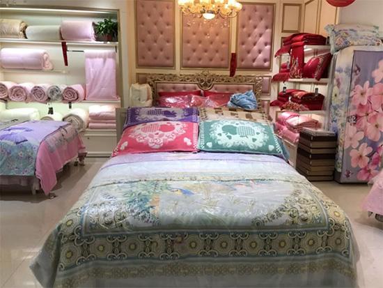 圣路易丝家纺店陈列(二)