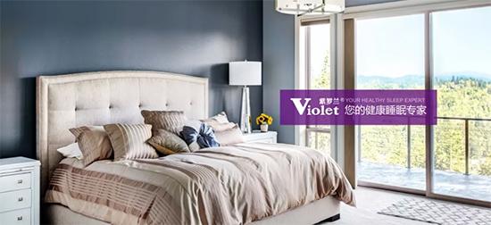紫罗兰家纺健康睡眠专家