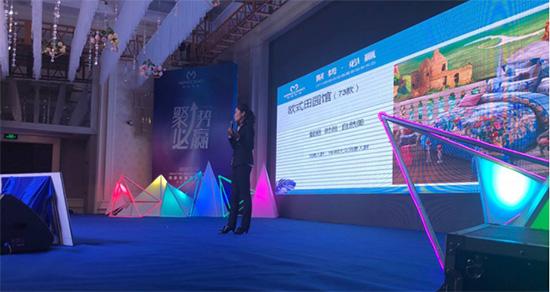 姜总针对明超家纺新品做了详细介绍