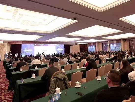 2018中国纺织企业家年会暨中纺企协九届六次理事会在北京召开