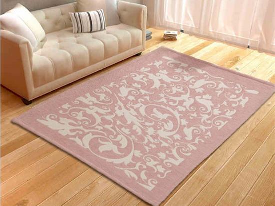 ▲合成纤维地毯