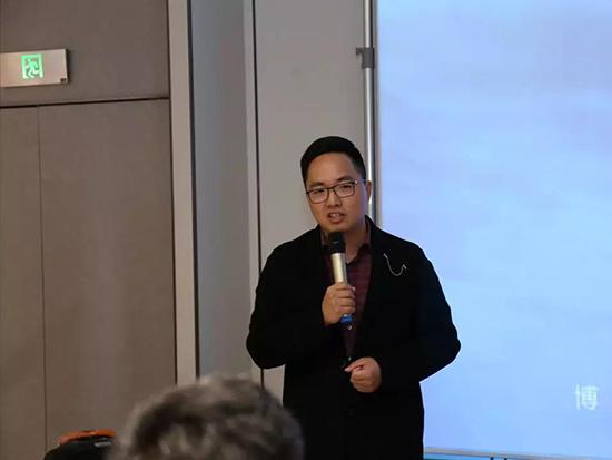 博洋家纺新零售发展中心总监杜昀致辞