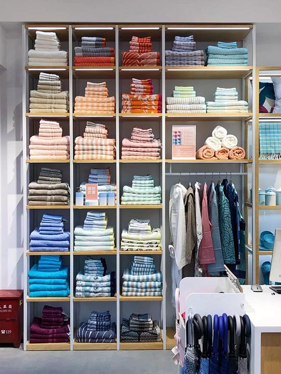 ESPRIT毛浴巾区域