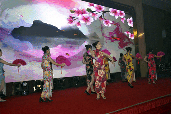 中式旗袍舞