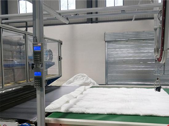 棉被基本成型