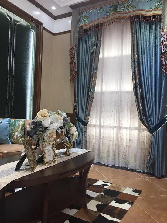 摩力克窗帘展示