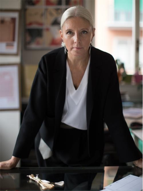 品牌首席设计总监Paola Maltese