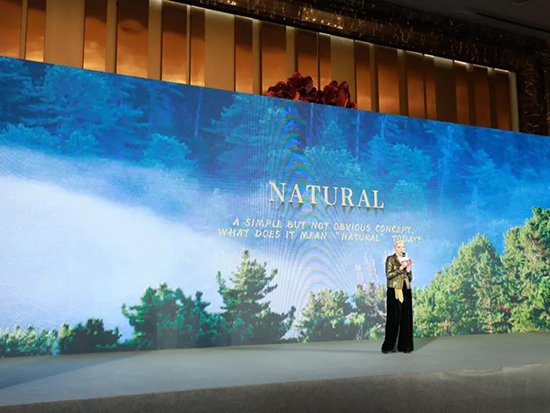 "Paola Maltese现场阐述""NATURAL""系列"