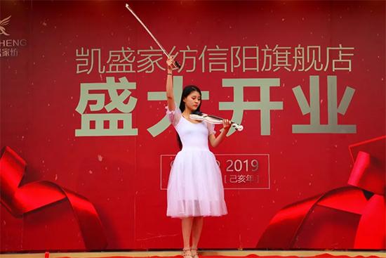 优雅的小提琴表演