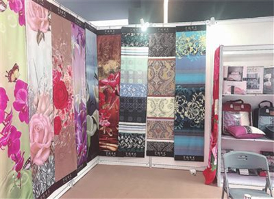 出口纺织展区