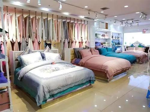 家纺店产品陈列