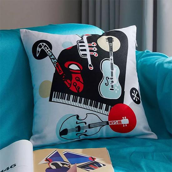 音乐主题系列抱枕题