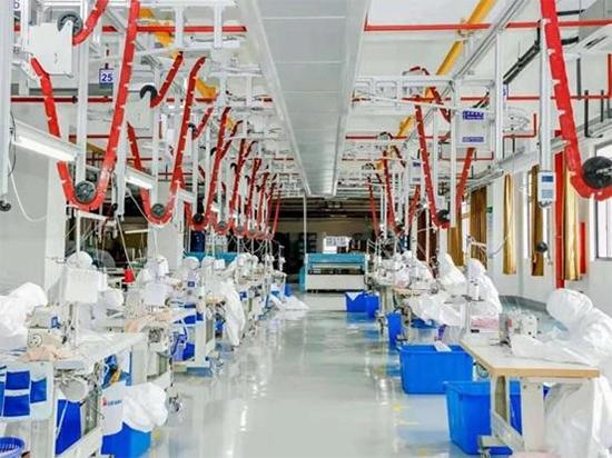 水星紧急投产防护服和口罩