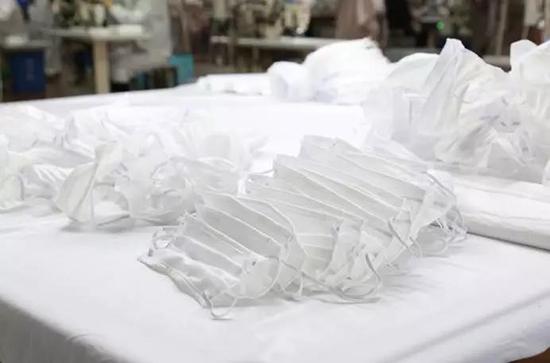 罗莱生活公司生产的民用防护口罩