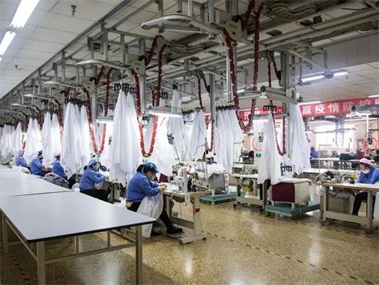 安排专线生产防疫物资