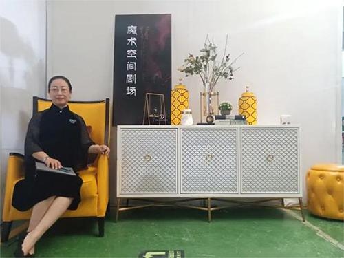 武老师受邀参加绍兴家纺八大联盟品牌直播