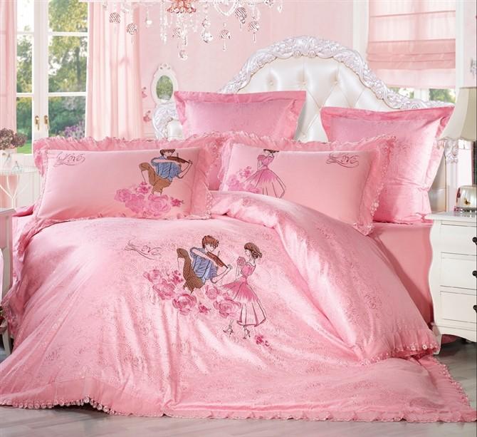 床上用品六件套欧式